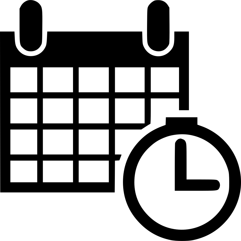 Calendar Time Schedule Event Planning Gantt Svg Png Icon Free.