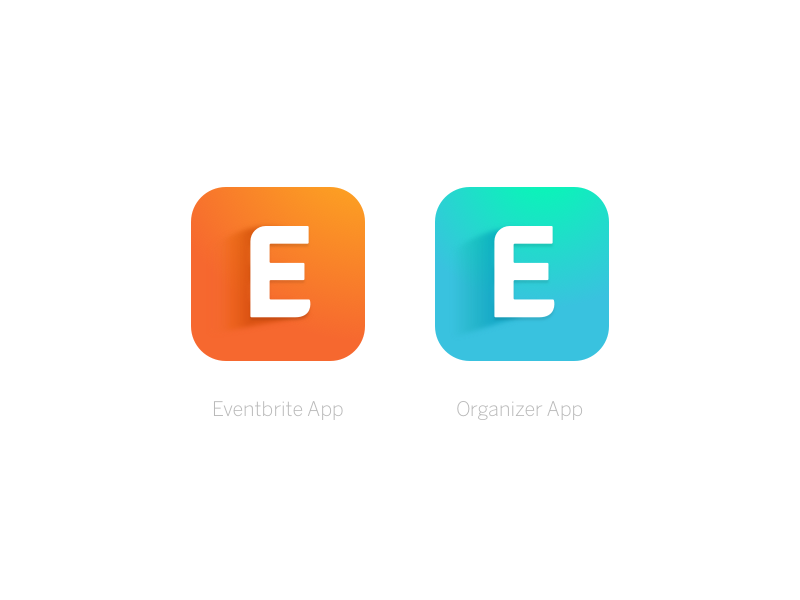 Eventbrite App Icons by Lumen Bigott for Eventbrite on Dribbble.