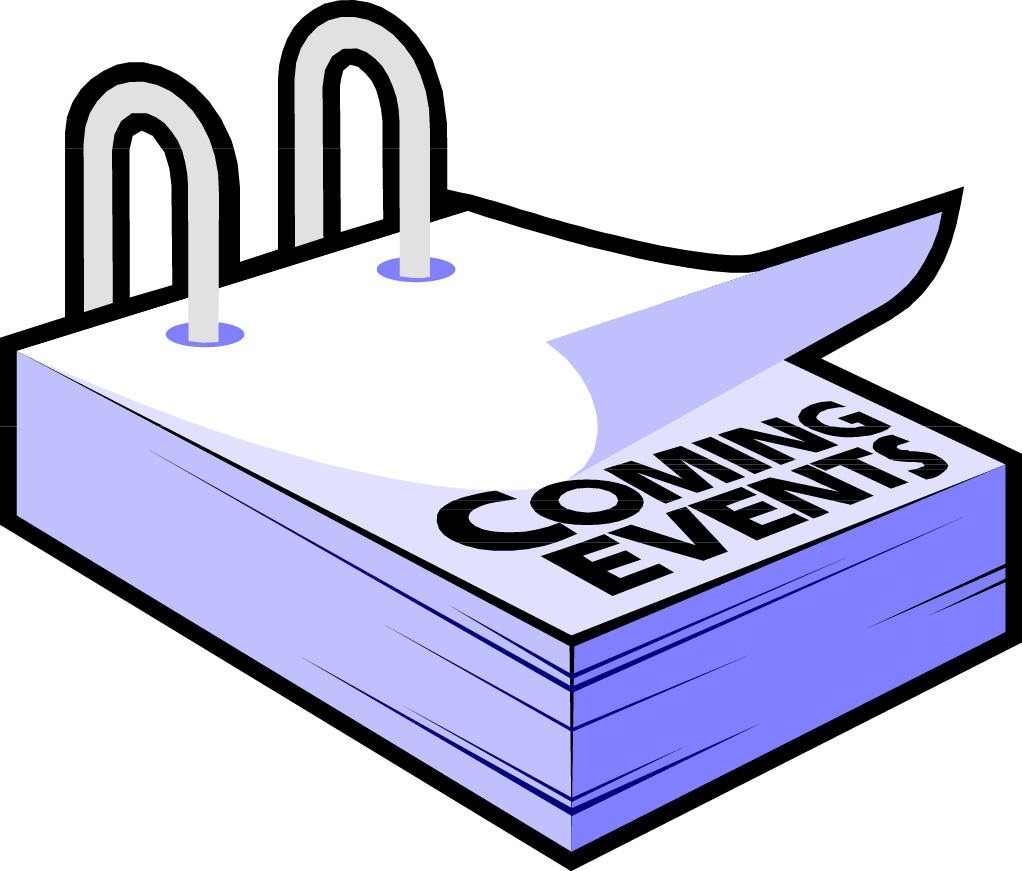 Upcomingevents Clipart.
