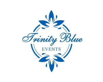 Trinity Blue Events logo design contest. Logo Designs by corazon.