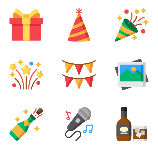Event Icons.
