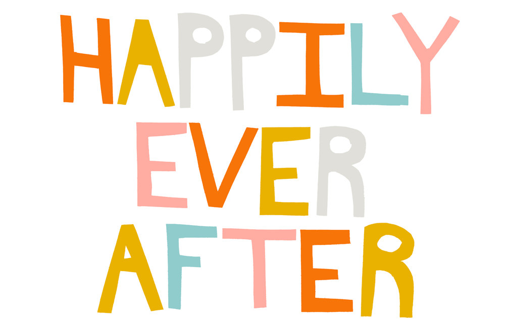 Happily ever after clipart.