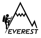 Mount everest clipart.