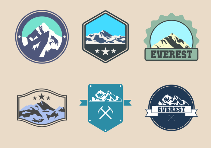Free Everest Logo Vector.