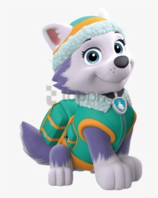 Everest Paw Patrol Png, Transparent Png , Transparent Png.