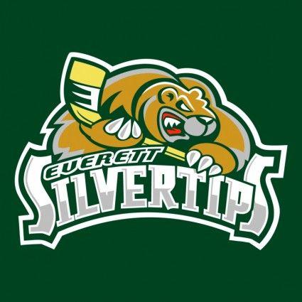 Everett Silvertips Logo.