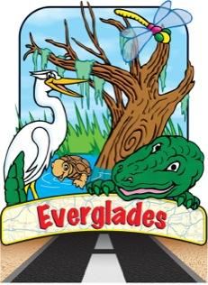 Road Trip Landmark: Everglades (Classroom Sign)}.