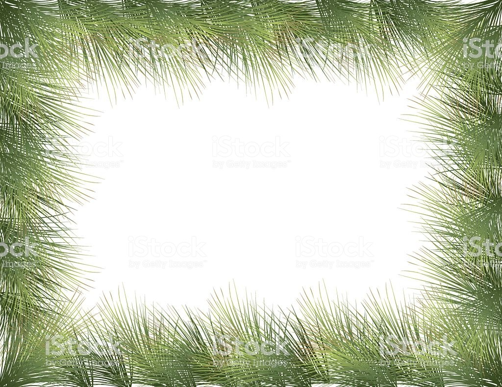 Evergreen Border » Clipart Portal.