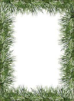 Evergreen border clipart 3 » Clipart Portal.