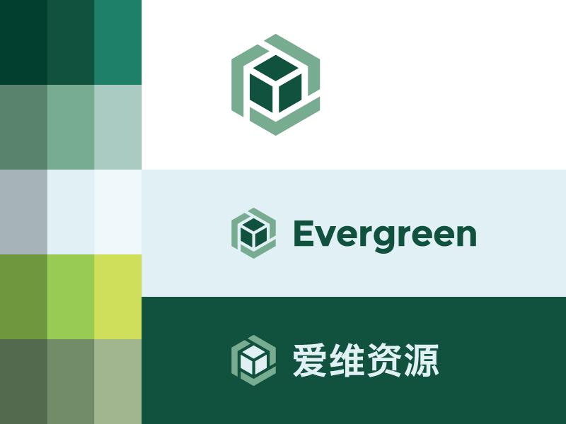 Evergreen Logo by Michael Weinstein on Dribbble.