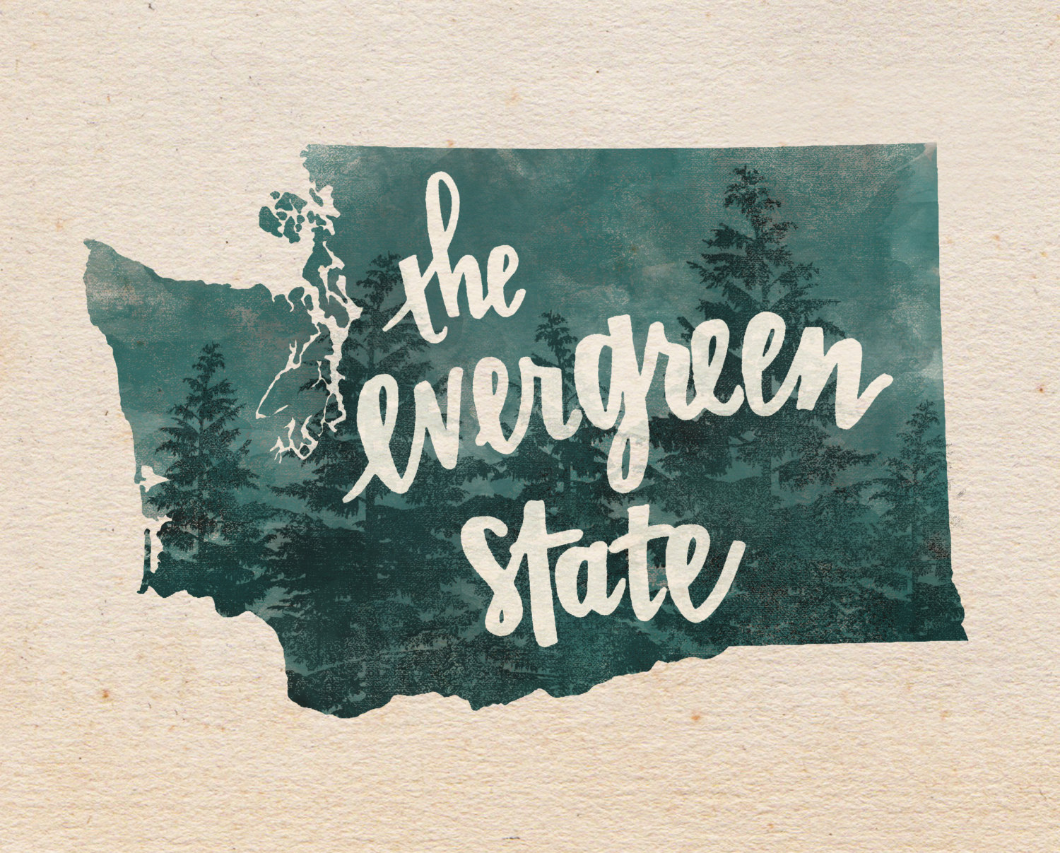The evergreen state.