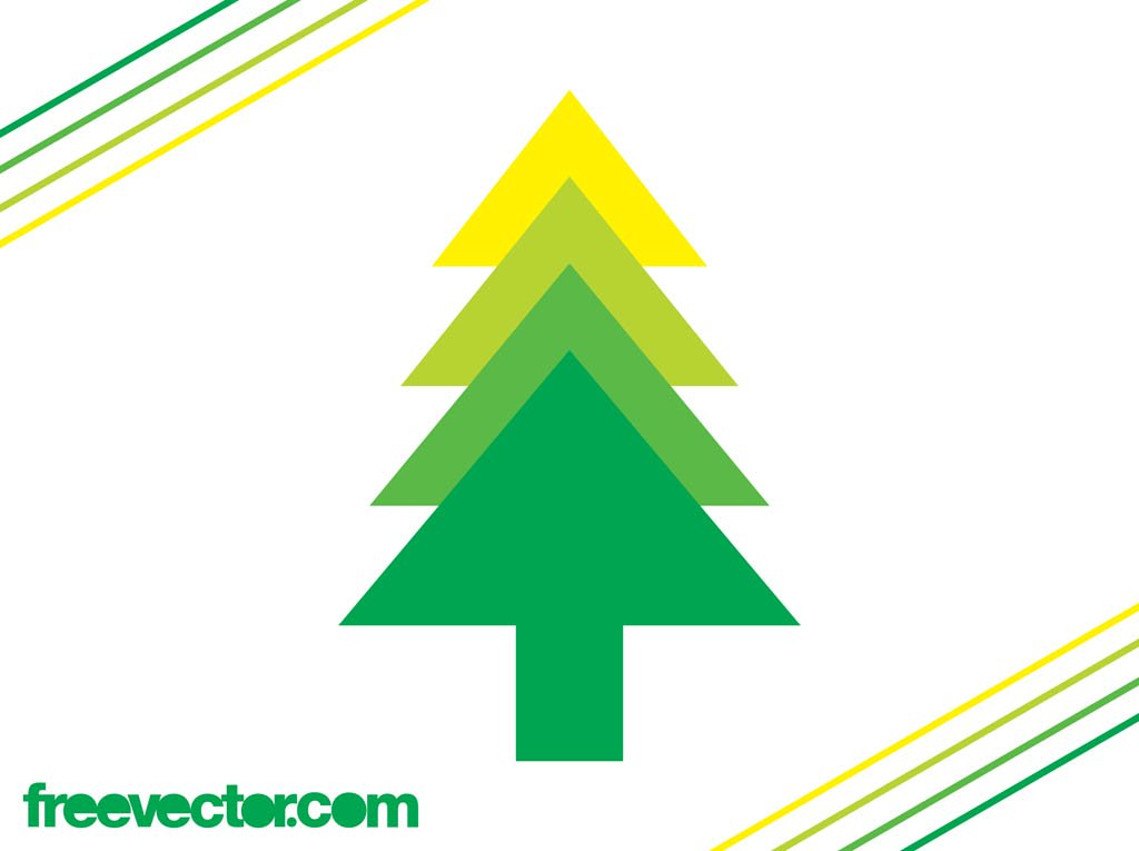Evergreen Tree Icon Vector Art & Graphics.