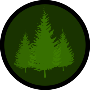 Evergreen Symbol 1 Clip Art at Clker.com.