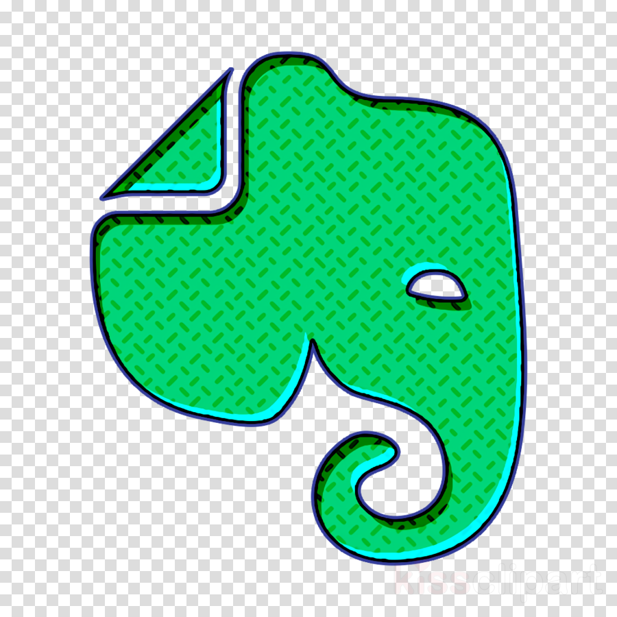 evernote icon clipart.