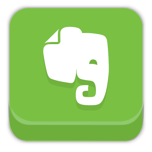 apps evernote icon.