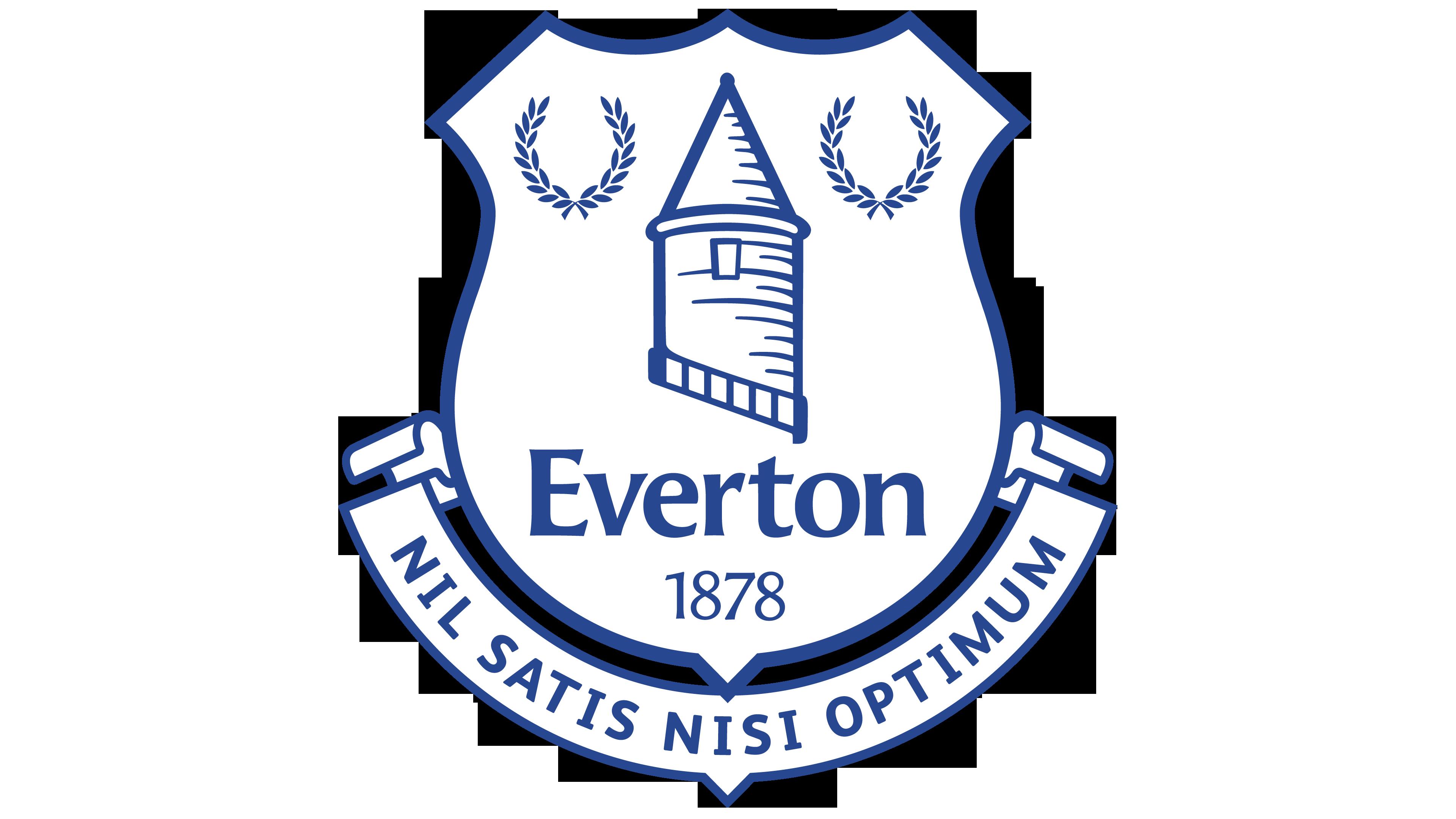 Everton logo.