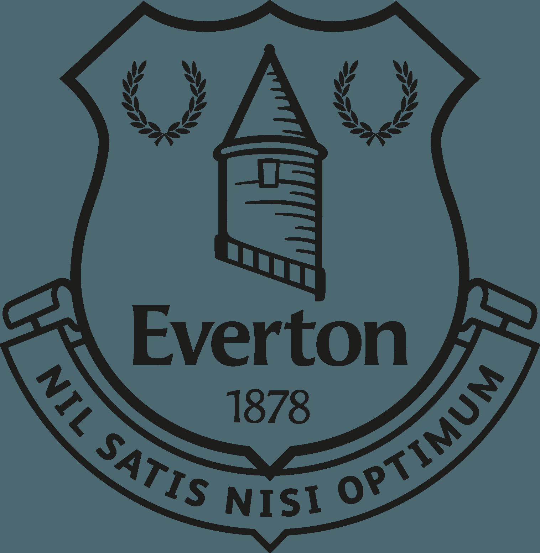 Everton Football Club Logo Download Vector.