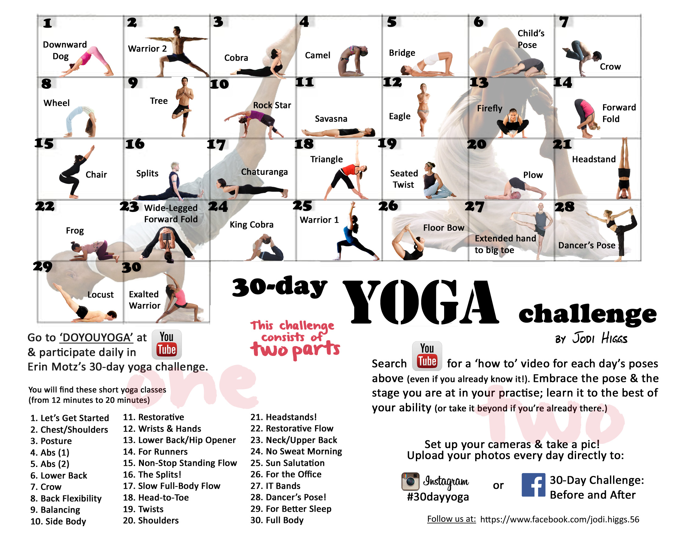 17 Best ideas about 30 Day Back Challenge on Pinterest.