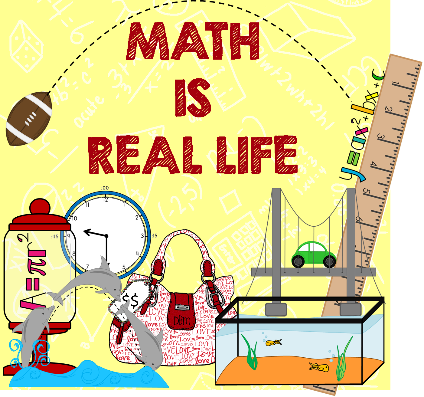 Maths In Real Life Posters.