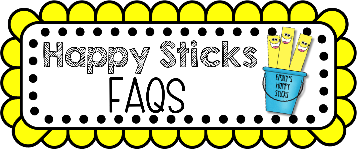 Faqs For Happy Sticks Behavior Management & A Product.