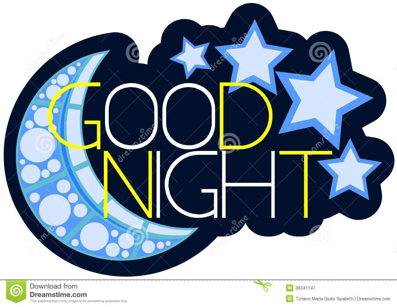 Goodnight Everyone Clipart.