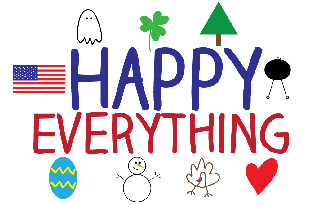 Free Holiday Clipart to use for Christmas, Easter, Father's Day.