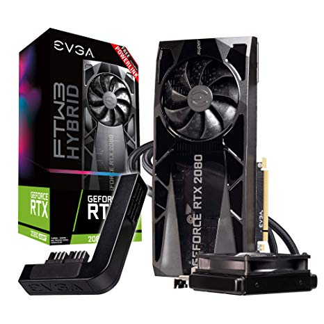 EVGA GeForce RTX 2080 SUPER FTW3 HYBRID GAMING, 08G.