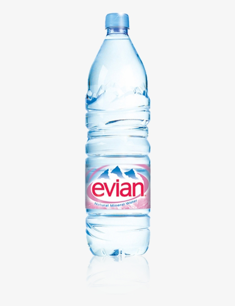 Evian Mineral Water Delivery London.