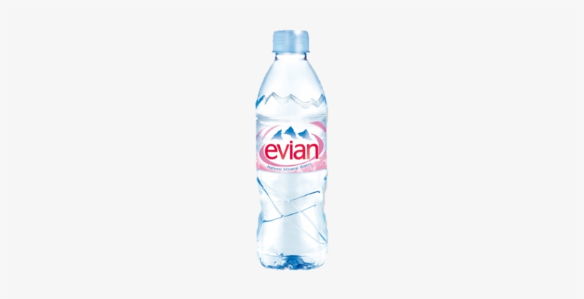 Water Bottle Clipart Evian.