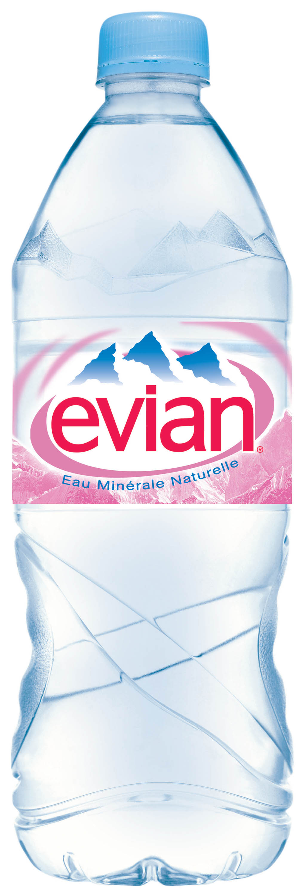4 advertisements for Evian.