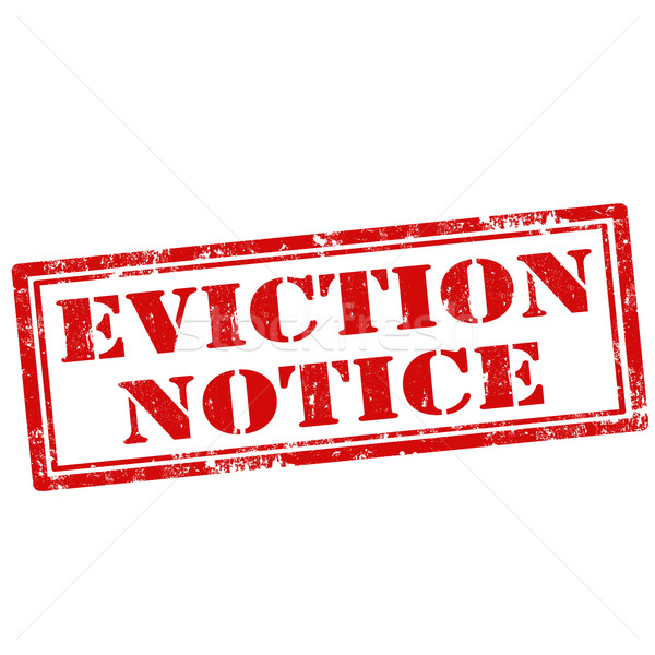 Eviction Notice vector illustration © Neculai Carmen (carmen2011.