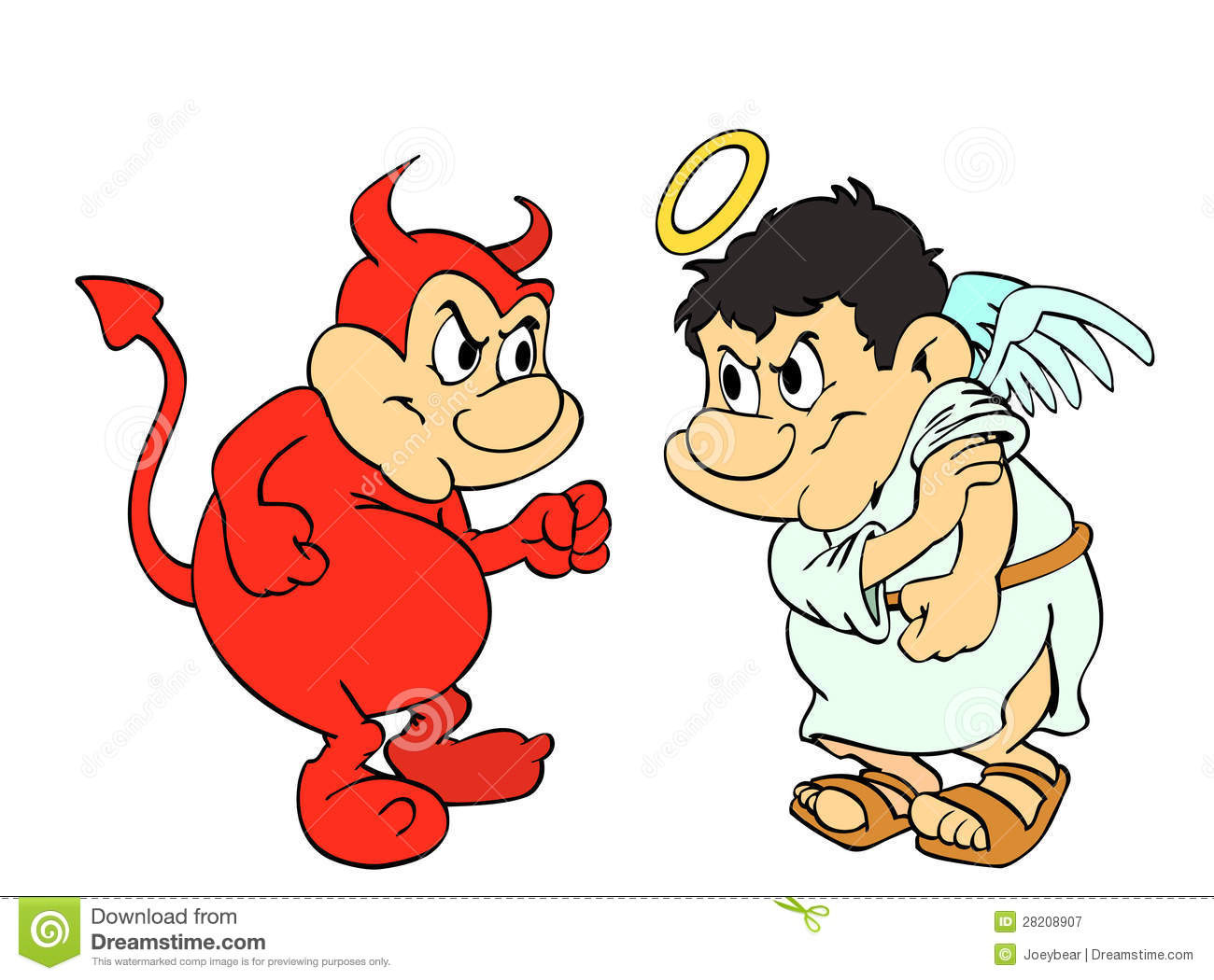 Good And Evil Clipart.