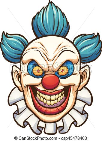 Evil clown.