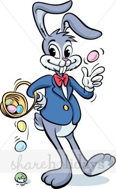 Funny Rabbit Clipart.