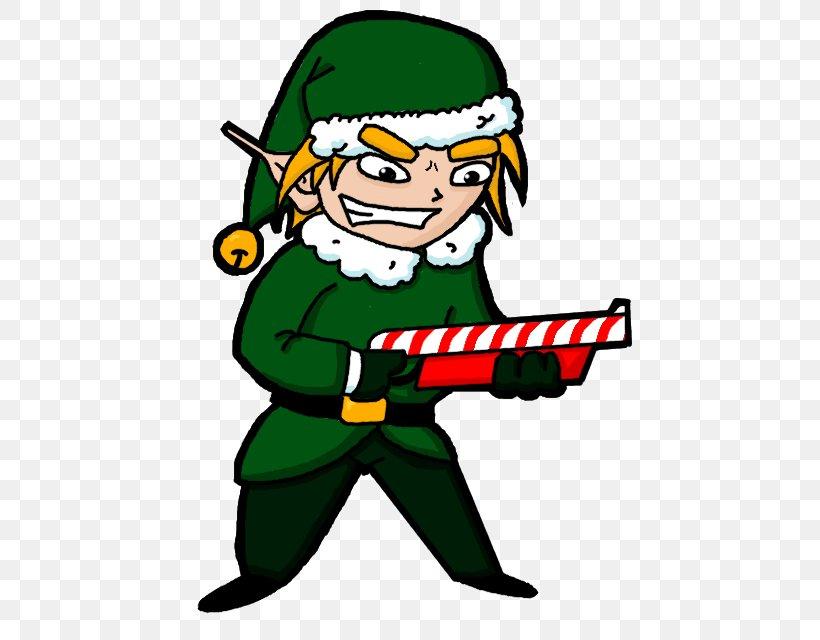 Santa Claus Christmas Elf Clip Art, PNG, 497x640px, Santa.