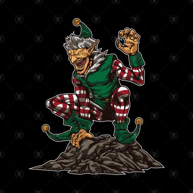 Evil Elf Interrupts Your Christmas Reunion.