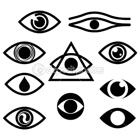Evil Eyes Clipart Black And White Clipground