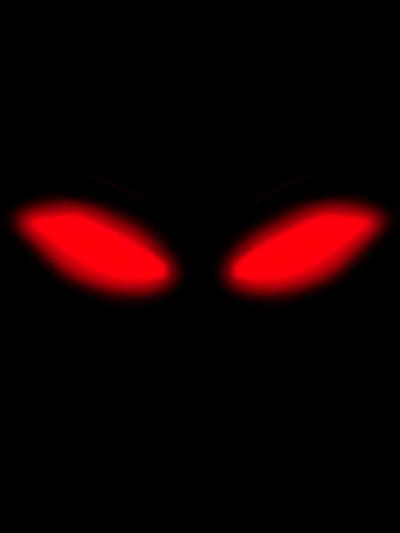 evil red eyes , Free png download.
