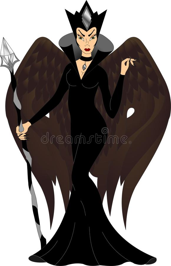 Evil Wings Stock Illustrations.