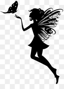 Fairy Silhouette PNG.