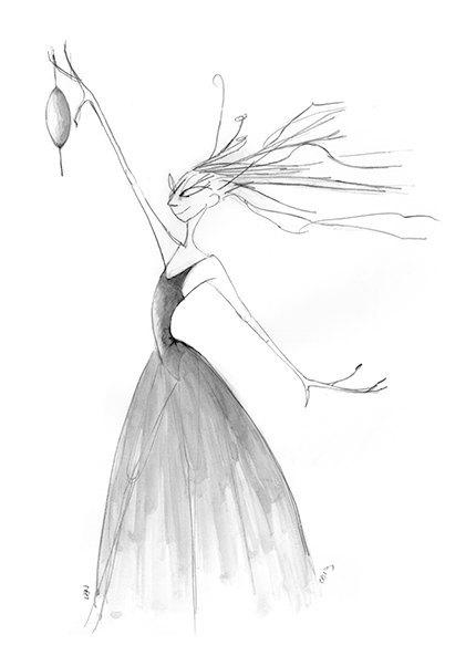 Evil fairy clipart.