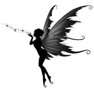 Evil Fairy Silhouette.