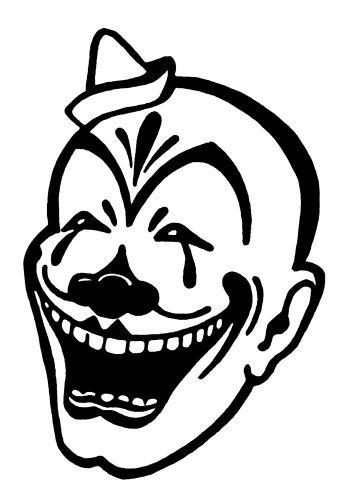 Evil Clown Tattoos.