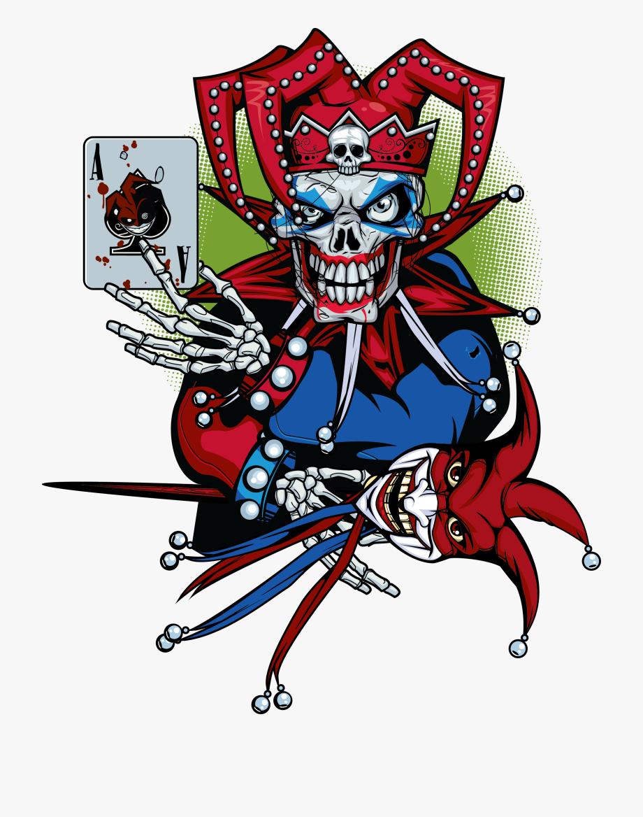 Clown Clipart Evil Jester.