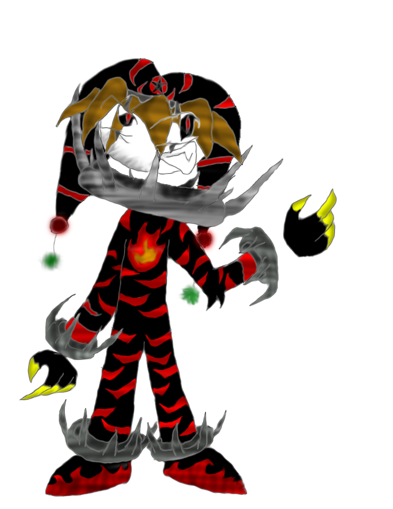 Images For Evil Jester Drawings.