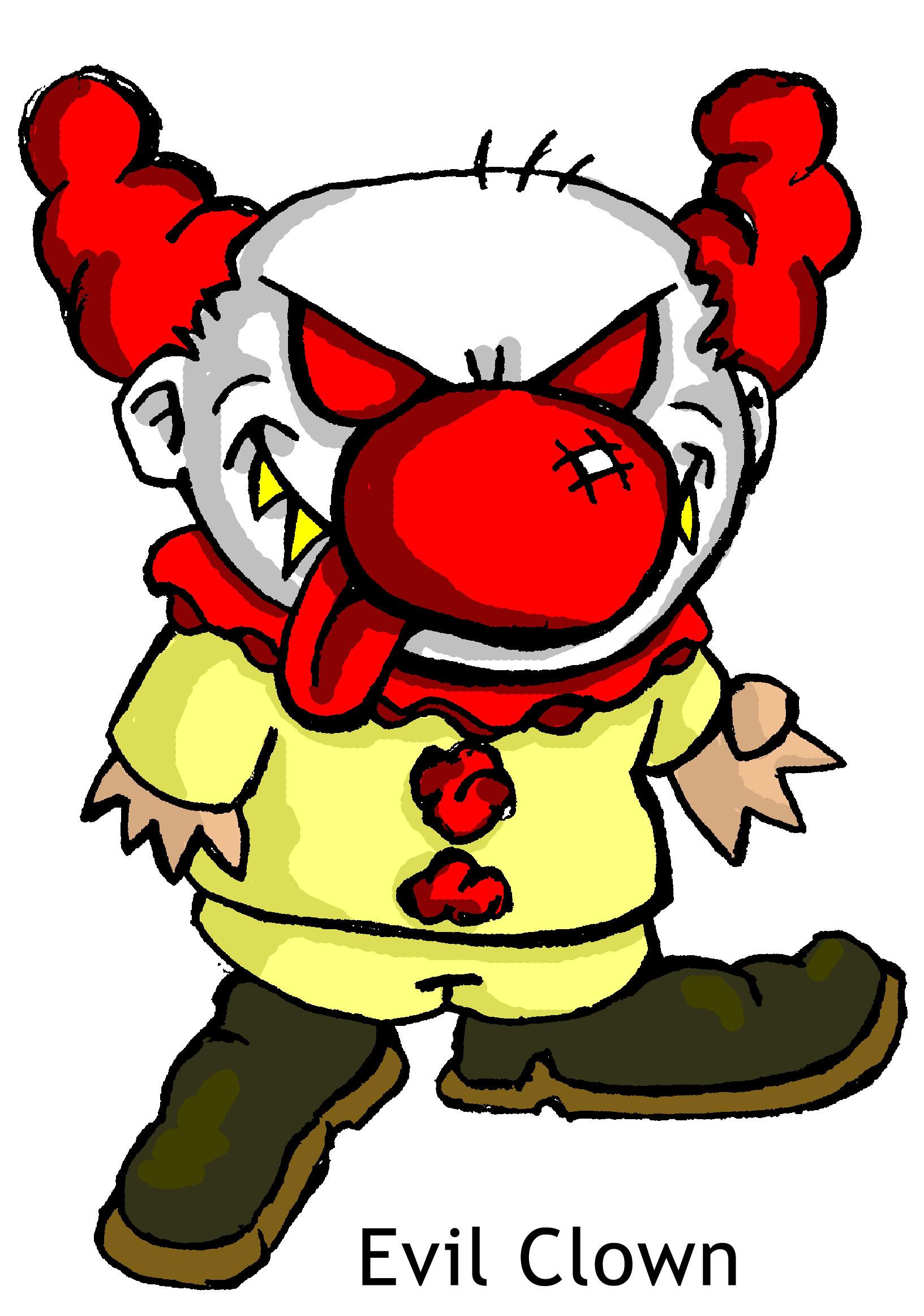 Free Evil Clown Png, Download Free Clip Art, Free Clip Art.