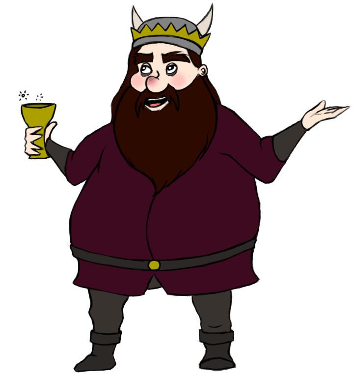 The Evil King by TeHNyboR.