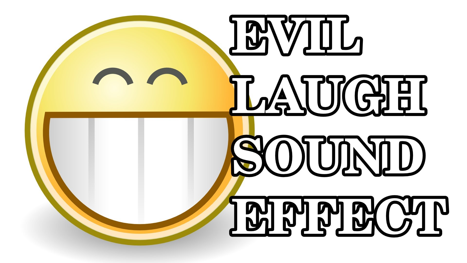 Evil Laugh Sound Effect [High Quality, Free Download].