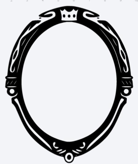Evil Queen's Magic Mirror.