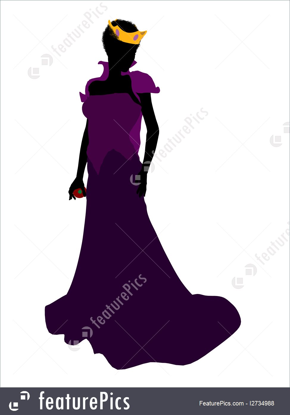 Silhouettes And Outlines: Evil Queen Silhouette.